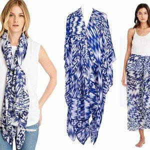 Michael Stars Ruana Scarf Sarong Cover Up
